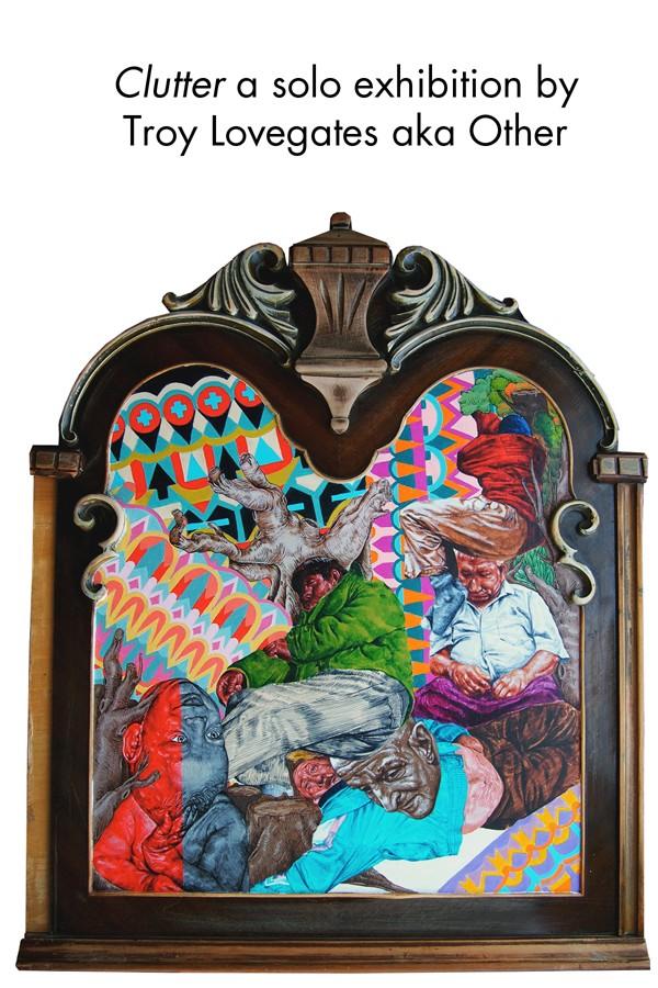 Clutter by Troy Lovegates